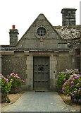 SW5527 : Courtyard door at Porth en Alls by Mari Buckley