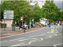 TQ3179 : Kennington Road, Lambeth by Stephen McKay