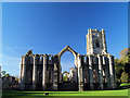 SE2768 : Fountains Abbey. by Steve  Fareham