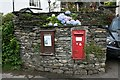 NY3603 : Victorian Letterbox at Clappersgate. by Steve Partridge