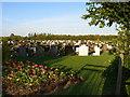 NZ4724 : Wolviston Back Lane Cemetery by Carol Rose