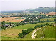 TQ2411 : Fulking from Edburton Hill by Simon Carey