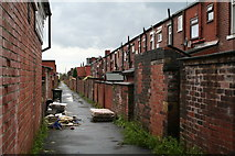 SD8912 : At the back of Osborne Street, Rochdale, Lancashire by Dr Neil Clifton