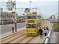 SD3032 : Tram in Blackpool by Darrin Antrobus