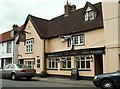 TL4711 : 'The Crown' inn at Old Harlow by Robert Edwards