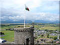SH5831 : Harlech Castle - The North West Tower by John Lucas