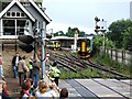 SK9770 : High Street Railway Crossing, Lincoln by Dave Hitchborne