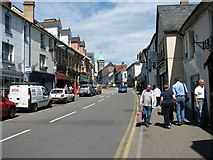 SO3014 : Abergavenny - Cross Street by Roy Parkhouse