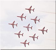 SZ1090 : The Red Arrows' annual visit to Bournemouth by Chris Downer