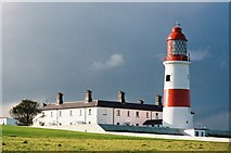 NZ4064 : Lizard Point lighthouse (not the Cornwall one!) by Chris Downer