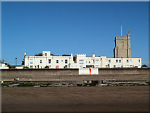 ST3049 : Burnham old round tower lighthouse. by Steve  Fareham