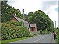 SJ5172 : St. John's church, Manley, on the Sandstone Trail by Mike Harris