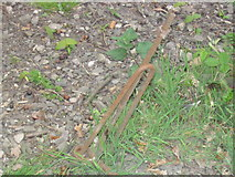SE1926 : Anchor for railway telegraph pole by Michael King
