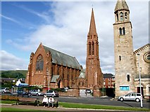 NS2059 : The Clark Memorial Church, Largs by Dave Hitchborne