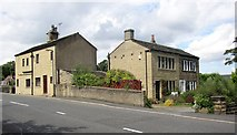 SE1321 : Two pairs of cottages, Field Lane, Rastrick by Humphrey Bolton