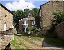 SE1321 : Castle Place, Rastrick by Humphrey Bolton