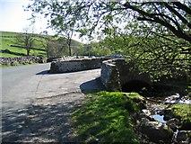 SD9163 : Old Gordale Bridge by John S Turner