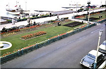 TV6198 : View of Eastbourne Promenade from Claremont hotel by P Flannagan
