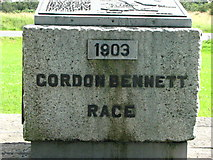 S7297 : Gordon Bennett Memorial Plaque by liam murphy