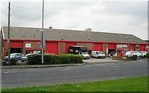 SE2334 : Swinnow Court Retail Units - Stanningley Road by Betty Longbottom