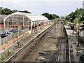 NZ3472 : Monkseaton Metro Station from Bridge by R J McNaughton