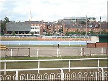 SO8455 : Worcester Racecourse by Trevor Rickard