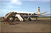 J1977 : BEA Viscount airliner at Nutts Corner Airport by P Flannagan