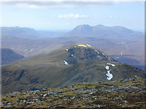 NH2071 : View north west from Sgurr Mor by Nigel Brown