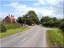 SK7564 : Highland Farm by James Hill