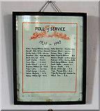 SE8317 : Luddington Church - Roll of Service 1939-1945 by David Wright