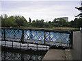 NS5467 : Victoria Park - Bridge over the Pond by Sandy Gemmill