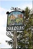 TQ5259 : Otford Village sign by Richard Croft