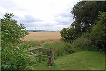 SE8317 : View from St. Oswald's Churchyard by David Wright