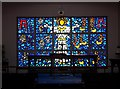 SY6781 : St. Aldhelm's Church - Stained glass window by Carl Whitehouse