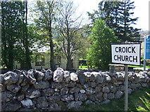 NH4591 : Croick Church by Jude Dobson