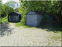 SE0511 : Old garages:Summer by Howard Selina