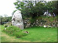 SM7727 : Maen Dewi with ruins by ceridwen