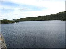 SH6737 : Llyn Trawsfynydd from the Maentwrog Dam by Eric Jones
