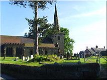 SJ8417 : St Editha, Church Eaton by A Holmes