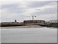 NZ4157 : Beach & Buildings - South Pier Sunderland by R J McNaughton