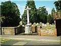 TL1714 : War Memorial Wheathampstead by Gary Fellows