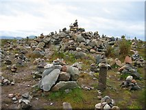 NH1804 : Rock art at the Loch Loyne viewpoint by John Allan