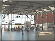 TQ3979 : North Greenwich Station - concourse by Stephen Craven