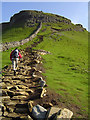 SD8372 : Pen-y-ghent ascent by Scott Robinson