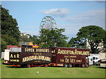 SX9063 : Funfair on Torre Abbey by Paul Anderson
