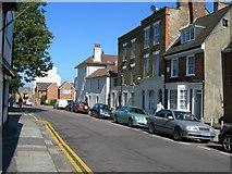 TQ7668 : Garden Street, Brompton (2) by Danny P Robinson