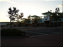 NS4865 : Abbotsinch Retail Park, Paisley by Stephen Sweeney