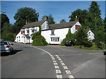 SO5504 : St Briavels - road junction by Roy Parkhouse