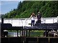 NR8390 : Canal lock at Cairnbaan Bridge by Charles Sutherland