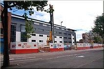 J3474 : Development site, Victoria Street, Belfast by Albert Bridge